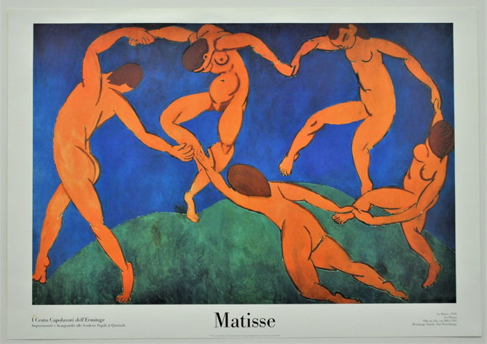 Henri Matisse - The dance (100 masterpieces of the Hermitage book) - 2003
