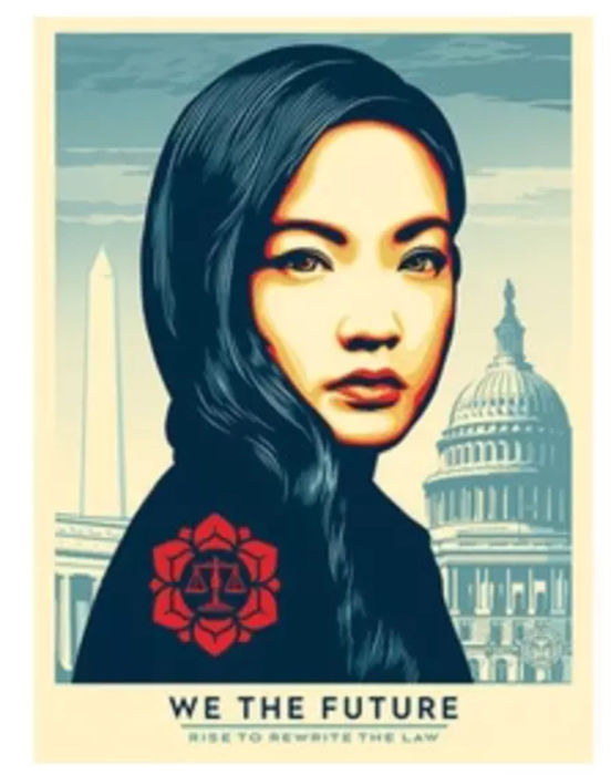 Shepard Fairey (OBEY) - We The Future Rise to Rewrite the Law + Bonus