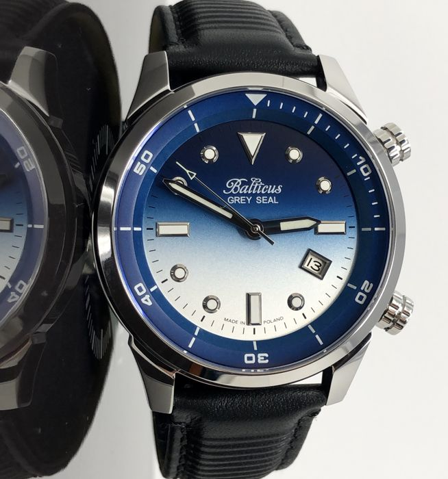 Balticus - Automatic Grey Seal Blue Dial with Date Limited Edition of 200 pieces - Seal Blue Dial - Hombre - 2011 - actualidad