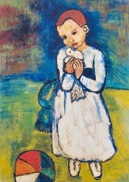 Pablo Picasso (after) - Child with Dove