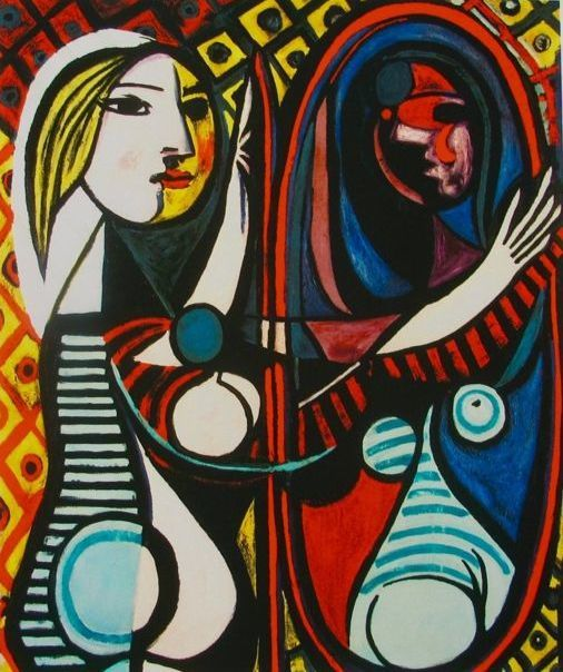 Pablo Picasso (after) - Girl Before Mirror