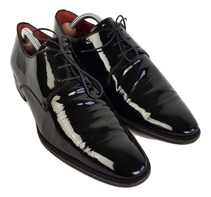 Sutor Mantellassi - derby - lace-up - patent leather - shoes