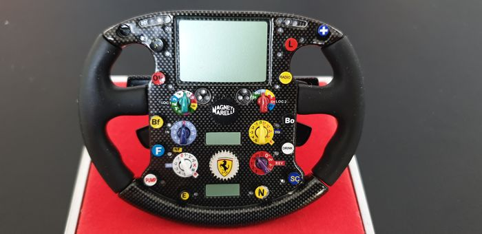 Dekoratives Objekt - Ferrari 248 F1 Steering Wheel  M.SCHUMACHER - 2009-2009 (1 Objekte)