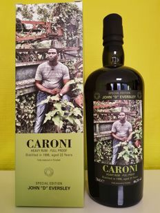 "Caroni 1996 22 years old Velier - Employees John ""D"" Eversley - 70厘升 - 1192 瓶"