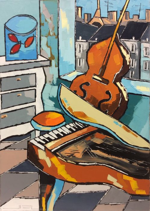 JIEL -  DANCE OF GOLDFISHES WITH OLD PIANO AND CELLO