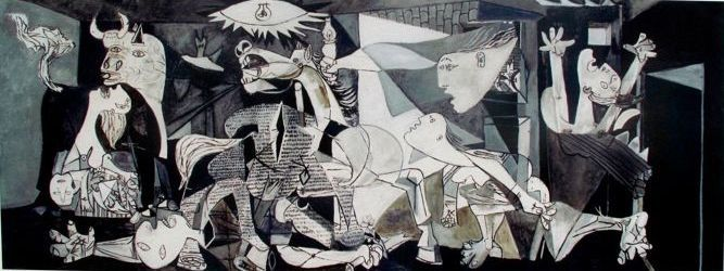 Pablo Picasso ( After) - Guernica