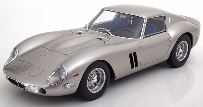 GT Spirit - 1:12 - 1962 Ferrari 250 GTO - Zilver - Limited 1 or 300pcs