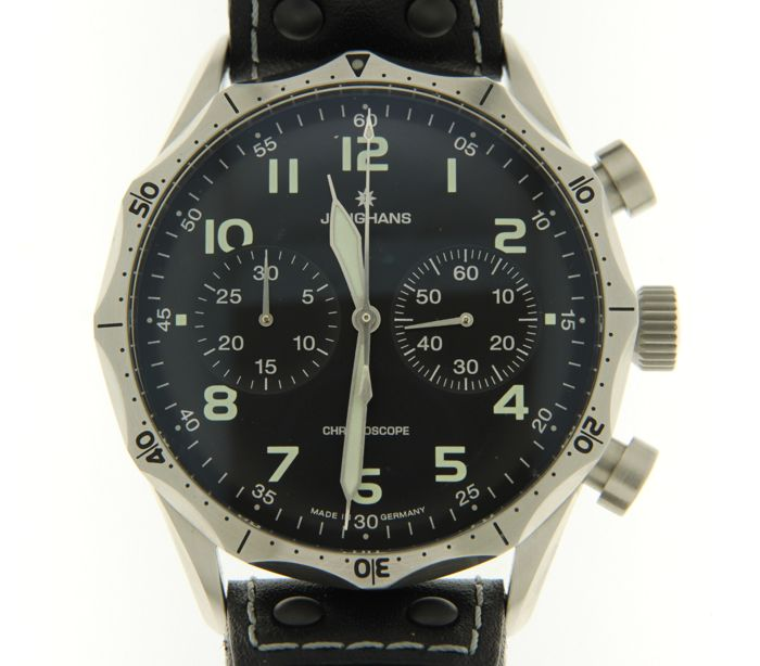Image 2 of Junghans - Pilot Chronoscope - 027/3590.00 - Men - 2011-present