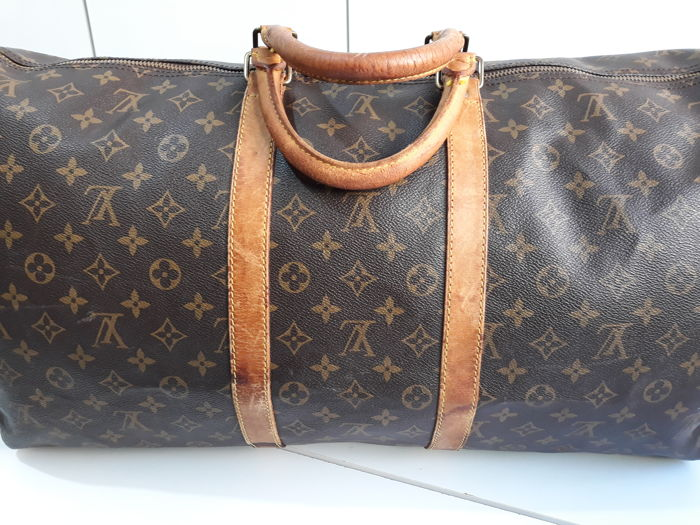 Louis Vuitton - Keepall 55 Borsa a spalla