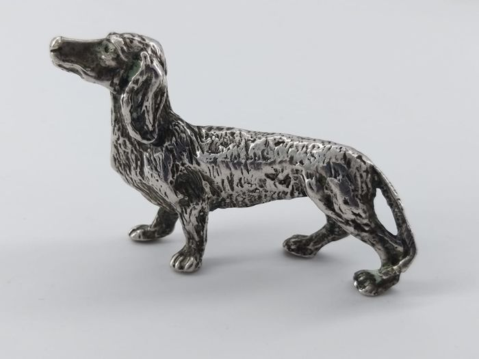 Figurine(s) - .800 silver - Italy - 1950-1999