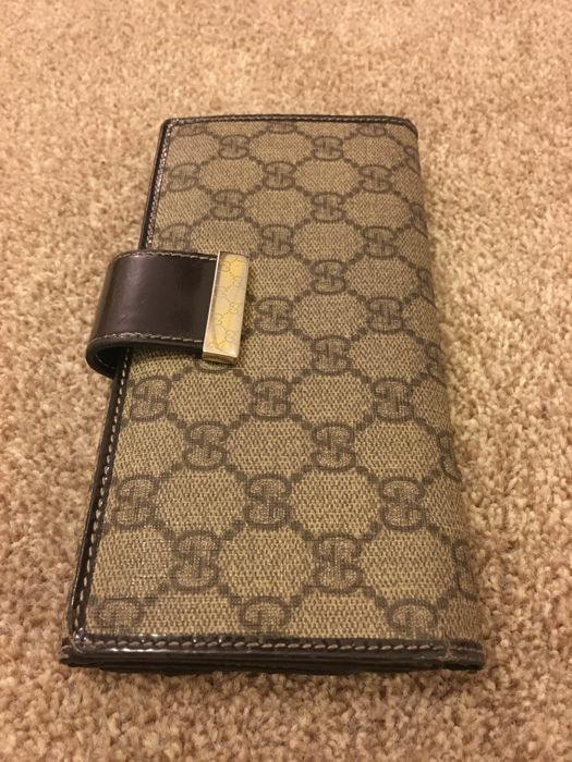 Gucci Long Continetal Purse GG monogram Made in Italy