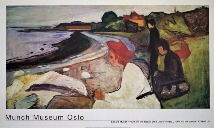Edward Munch - 'Youth on the beach', Munch Museum Oslo - 2000