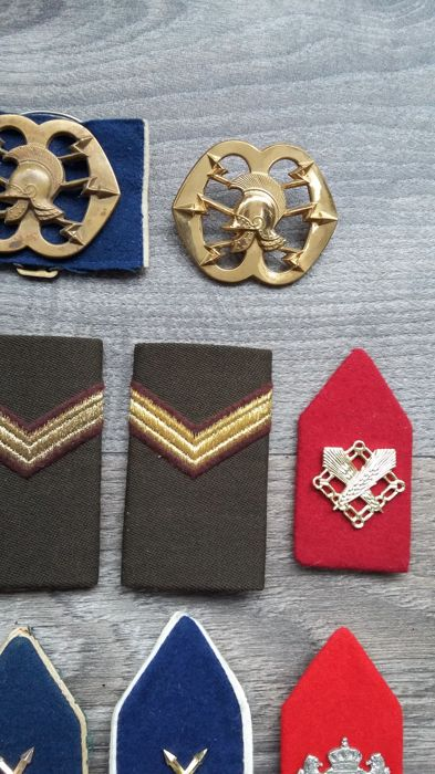 Netherlands - Miscellaneous - Collection 65 pieces Military