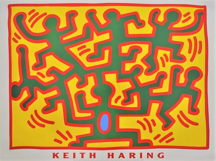 Keith Haring - Untitled from the series 'Growing' - 2002