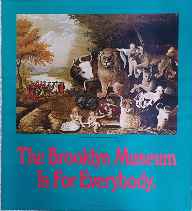 Edward Hicks - The Brooklyn museum is for everybody - 1967