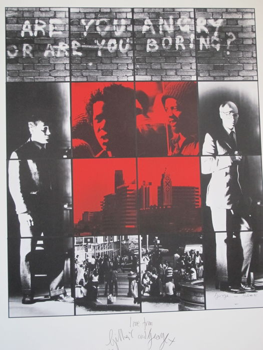 Gilbert and George - Are You Angry or Are You Boring?