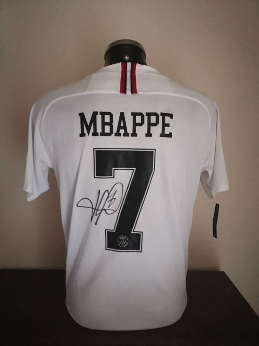 PSG - Franse voetbal competitie - Kylian Mbappé - 2018 - Jersey(s)
