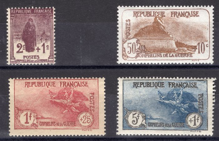 France 1926 - 3rd series in favour of War Orphans
