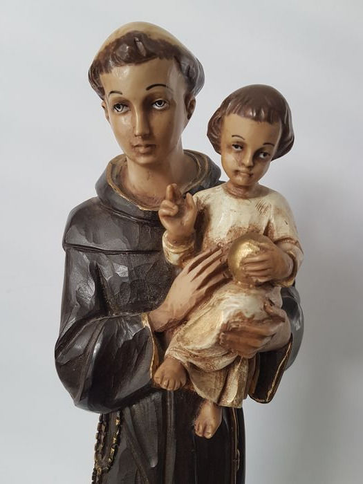 Picture of the Holy Antonius with child - 42.5 cm
