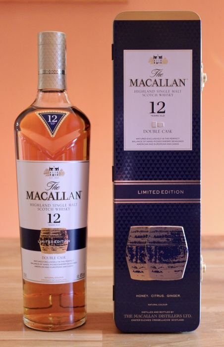 Macallan 12 years old Double Cask - limited edition in tin box - 0.7 Ltr