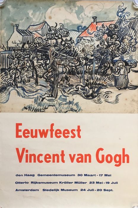 Anonymous - Eeuwfeest Vincent van Gogh - 1953