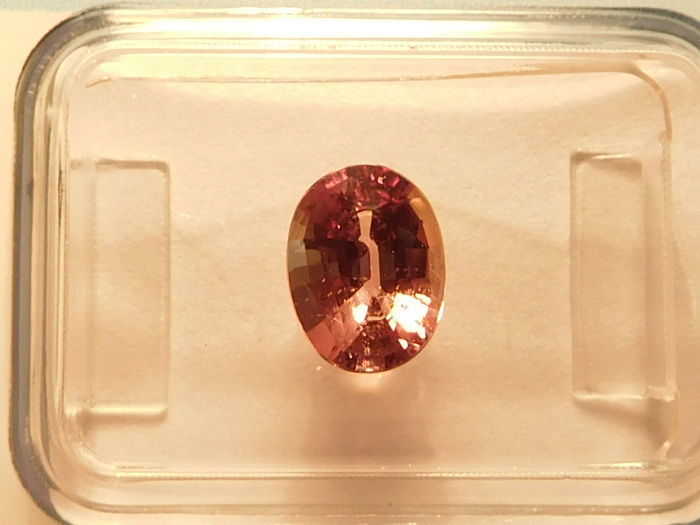 2 pcs  Saffier - 2.18 ct