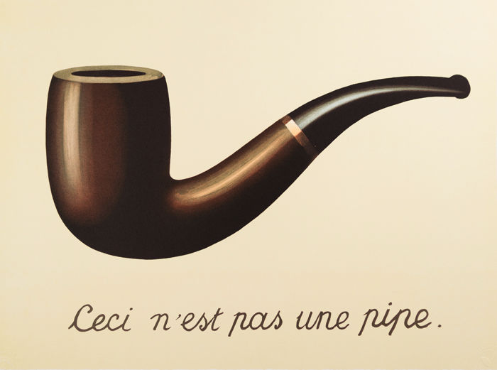 René Magritte (after) - La Trahison des Images (The Treachery of Images)
