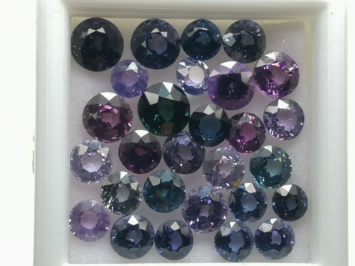 28 pcs  Spinel - 9.60 ct