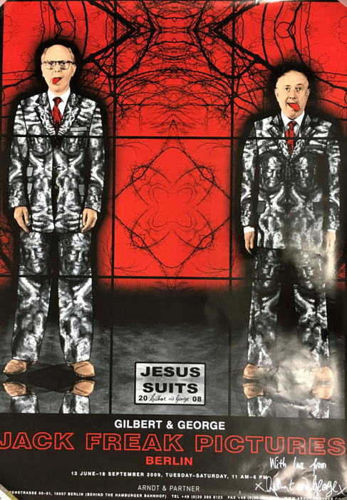 Gilbert & George -  Jack Freak Pictures, Jesus Suits (signed) - 2009