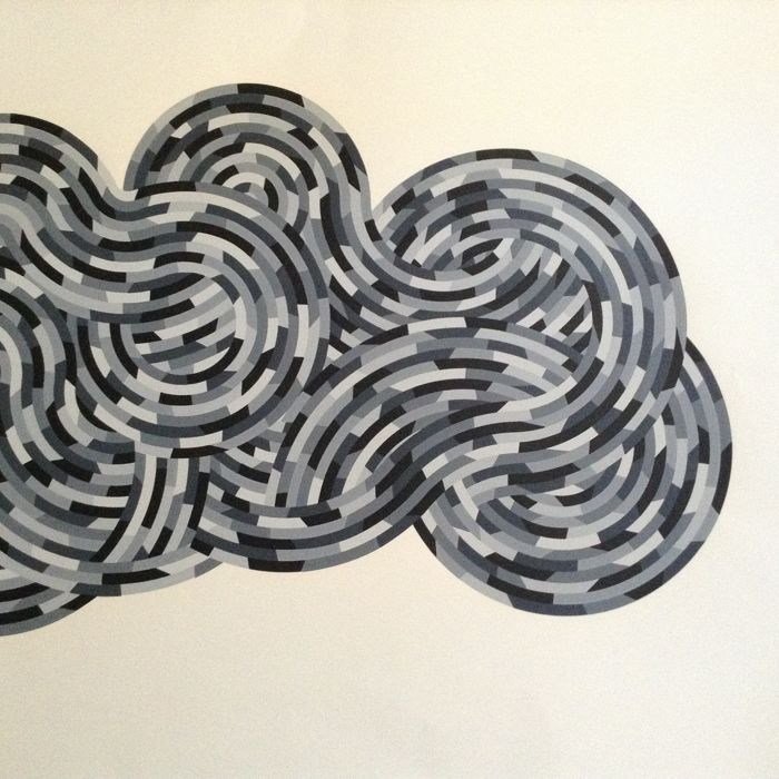 Sol LeWitt - Whirls and Twirls