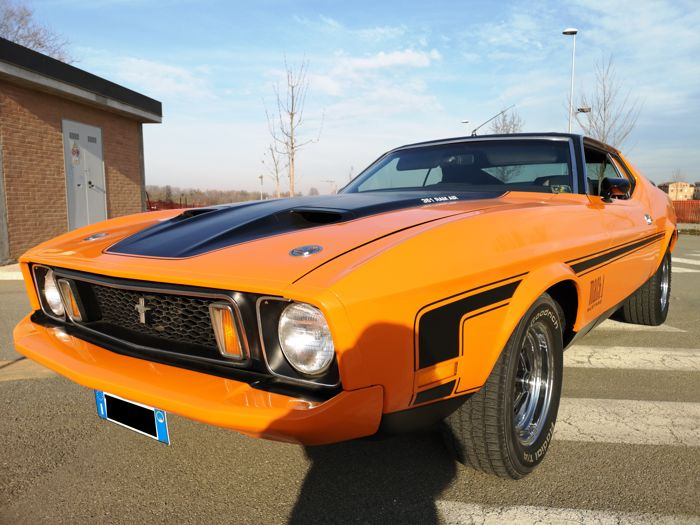 Ford USA - Mustang Mach1 Sportsroof / Fastback - 1973