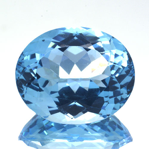 Swiss Blue Topaz - 20.10 ct