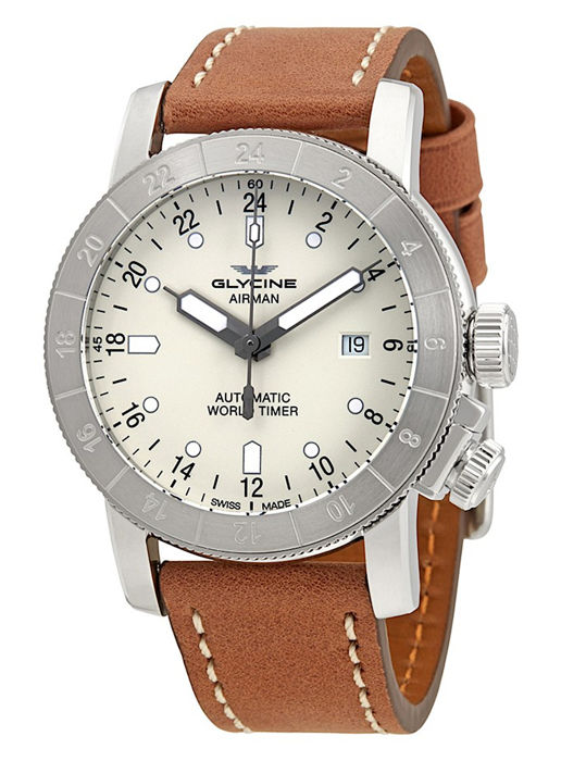 Glycine - Airman World Timer GMT - GL0138 - Men - 2011-present
