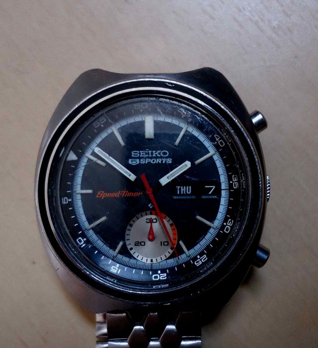 Seiko - 5 seports speed-timer - 260864 - Homme - 1960-1969