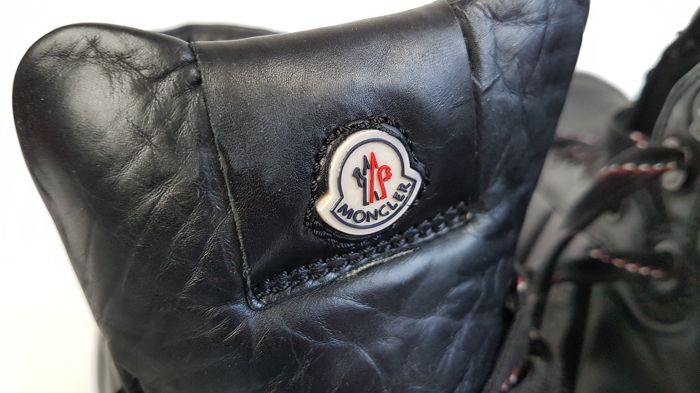 Moncler Lyon leather high top Sneakers Catawiki