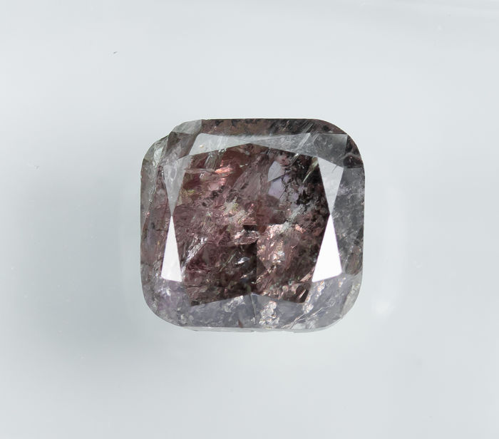 Diamond - 1.78 ct - Natural Fancy Pinkish Brown - I3 *NO RESERVE*