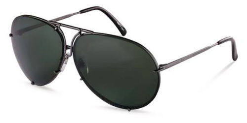 Nuovi occhiali da sole Porsche Design - Aviator Designer Sunglasses With Case and Docs Model P8478 - 2018 (1 oggetti)