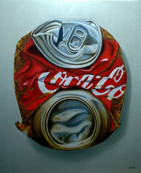 Atom - rusty can cola