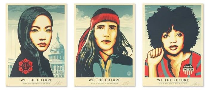 Shepard Fairey (OBEY) - We The Future Set