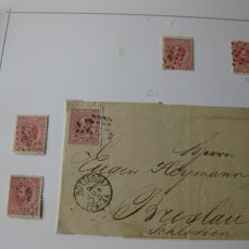 Netherlands 1867/1950 - Specialised collection in 2 albums