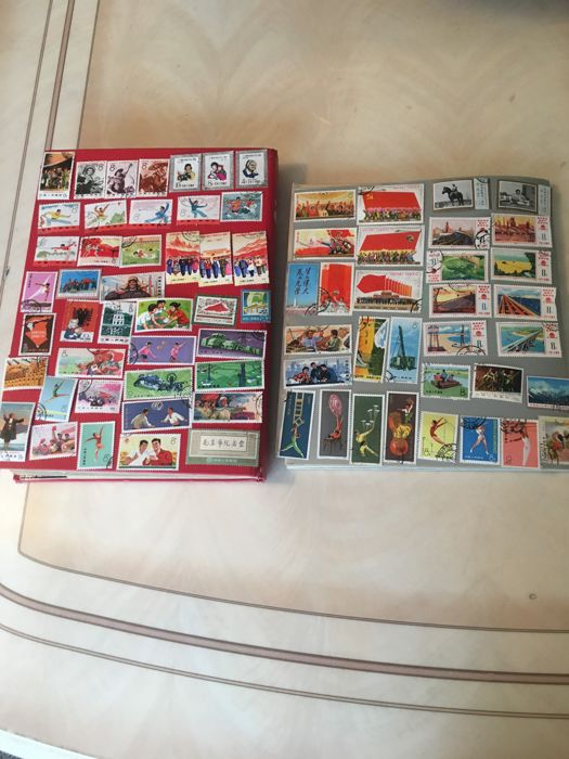 China - People's Republic since 1949 1960/1976 - 74 pieces of Chinese stamps