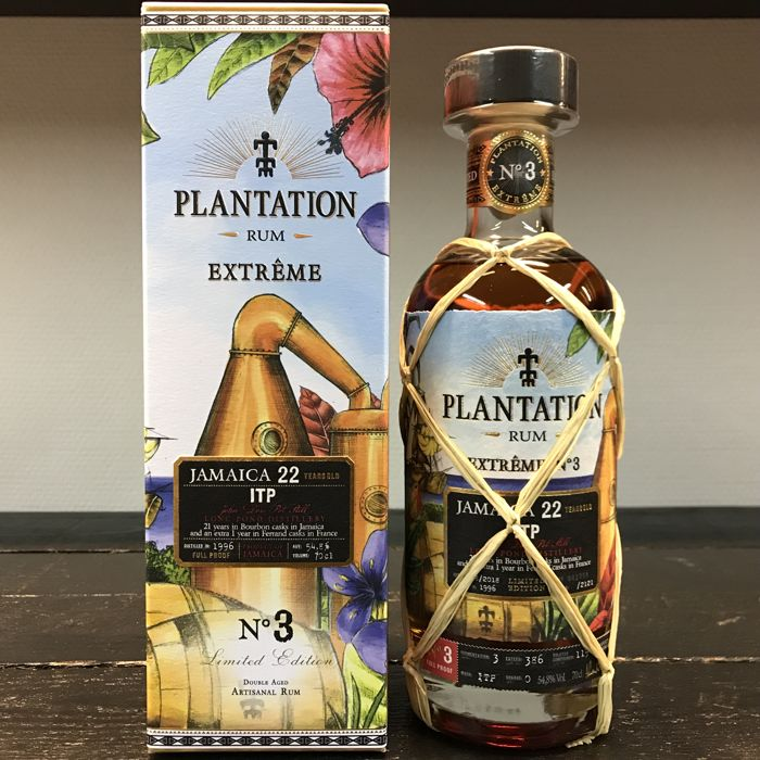 Long Pond 1996 22 years old Plantation - Extrême N°3 Jamaica ITP - 70cl