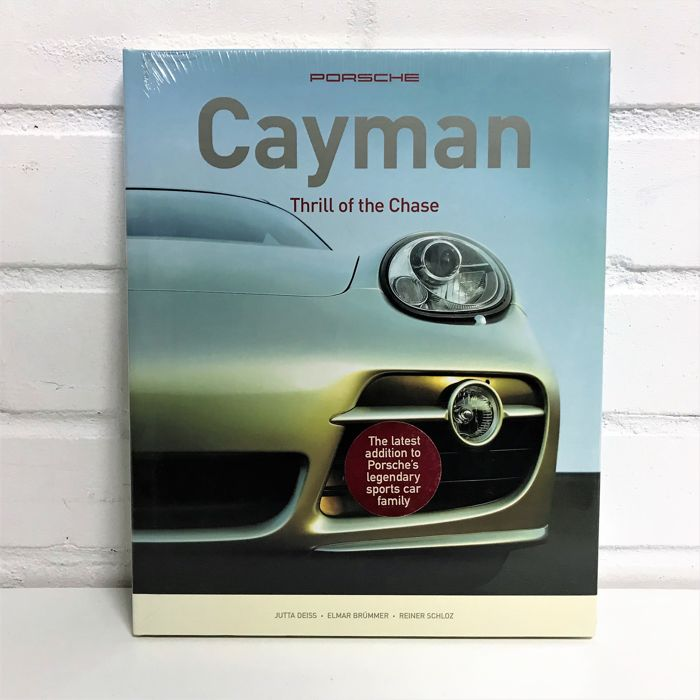 Books - Porsche Caymann the thrill of the chase - 2006 - Catawiki
