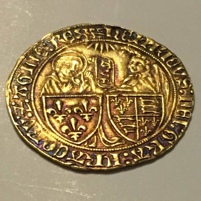 France - Henry VI de Lancaster (1422-1453) - Salut d'or - Gold