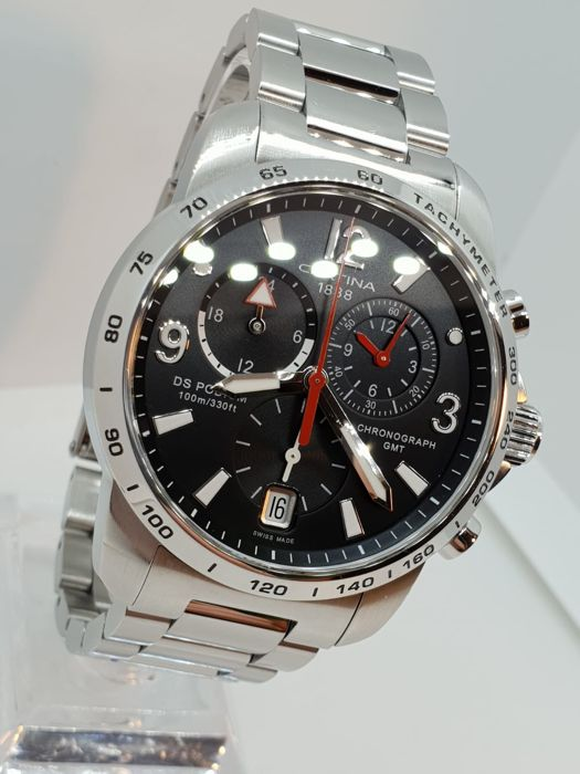 Certina - DS PODIUM GMT - FULL BOX - Homem - 2011-presente