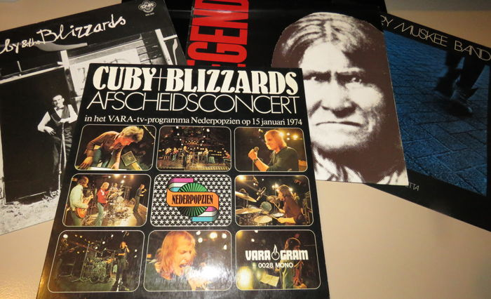 Cuby + Blizzards - and Related - 4 albums - Titoli vari - LP - 1974/1987