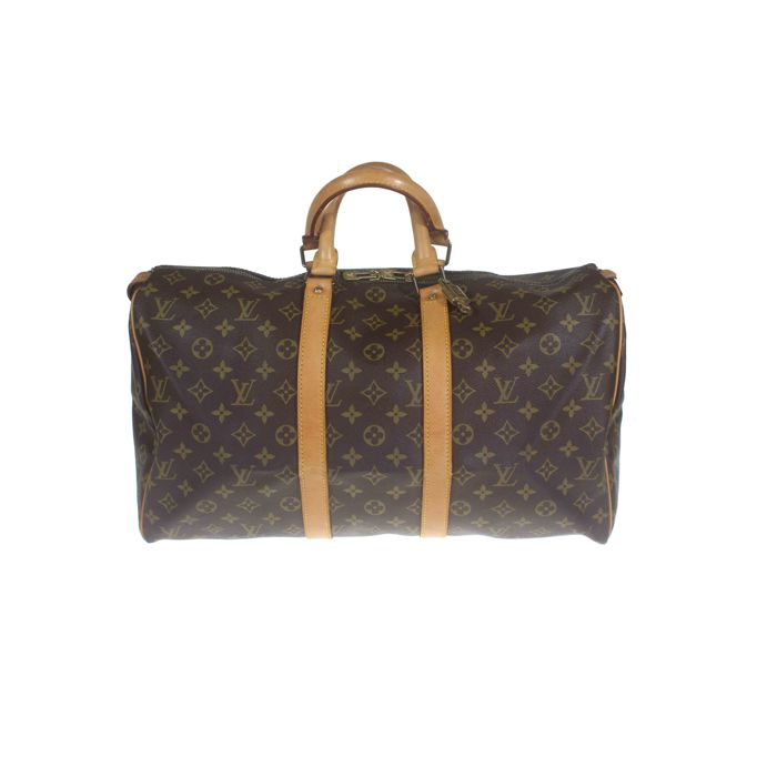 cb84d43c46a Louis Vuitton - Monogram Keepall 45 Weekend bag - Catawiki