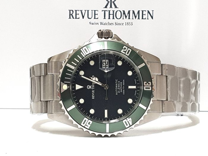 "Revue Thommen - "" NO RESERVE PRICE "" 17571.2134 ETA 2824 Automatic Swiss Made - Sub 300 Metri - Nuovo - Garanzia - Heren - 2011-heden"