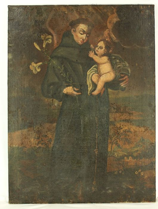 Anonymous - Saint Anthony of Padua with Child Jesus