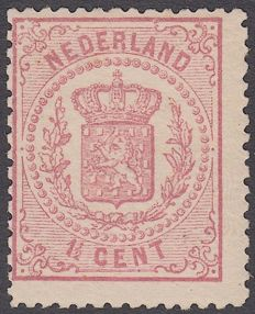 Holland 1869 - National coat of arms - NVPH 16